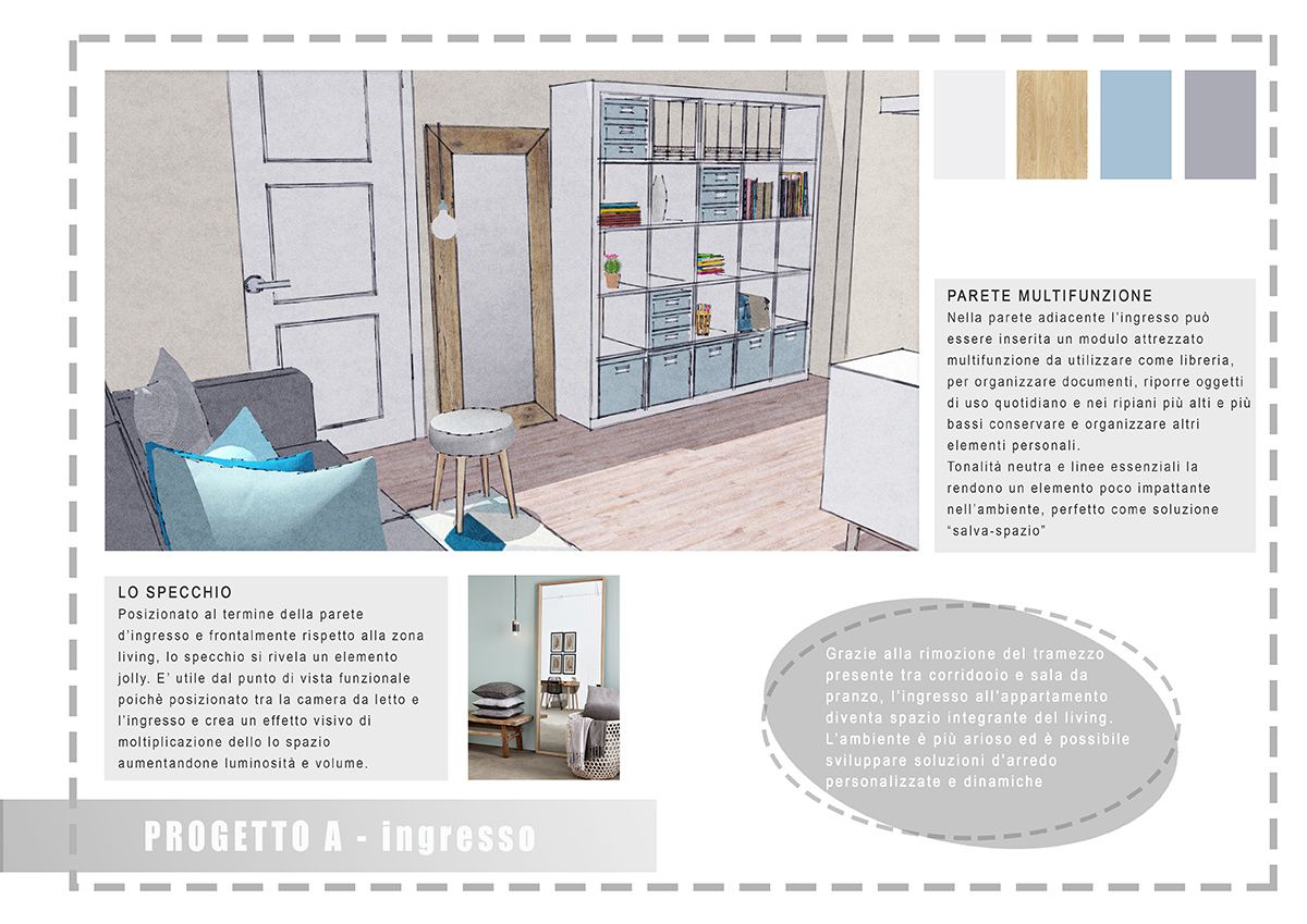 Progetto interior design atmosfere di casa for Siti di interior design