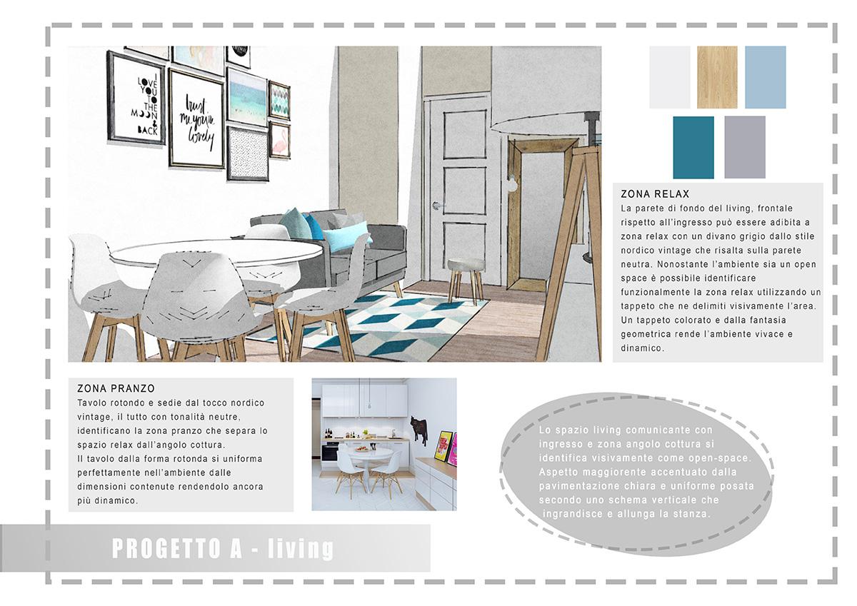 Progetto interior design atmosfere di casa for Siti di interior design